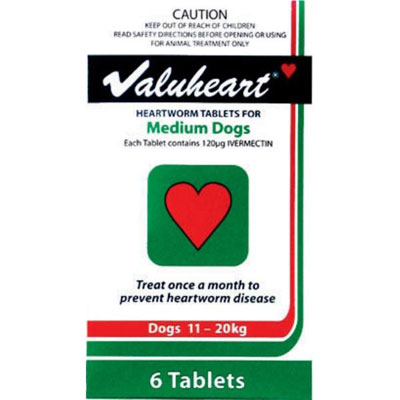 Valuheart For Dogs Buy Valuheart Heartworm Tabs For Dogs