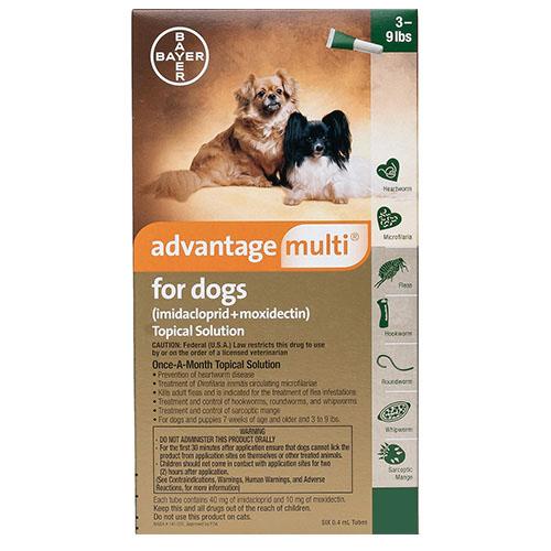 Buy Advantage Multi For Dogs Advocate Flea Amp Heartworm